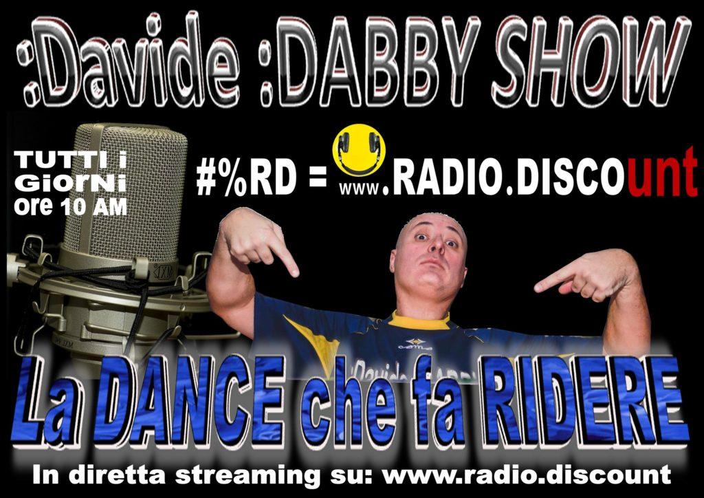 davide dabby show cabaret a www.radio.discount